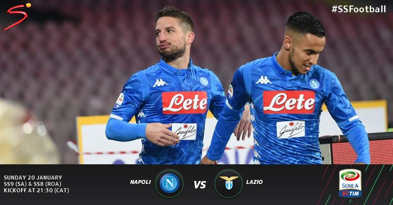 Xem lại Napoli vs Lazio, Coppa Italia – 22/01/2020