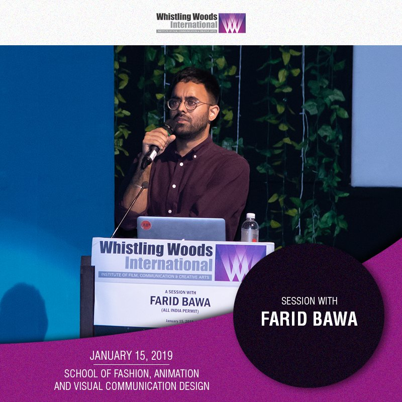 Whistling Woods International On Twitter Faridbawa Founder Director Of All India Permit Advisory Board Member At Whistling Woods International Explained The Concept Of Mobile Truck Art To The Students Of