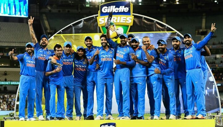 Great series win and a total team performance. So happy to finish the tour on a high. Jai hind 🇮🇳 #AUSvIND