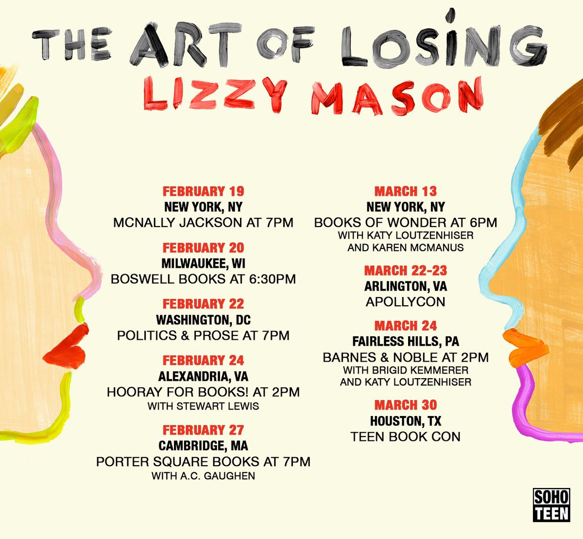 Lizzy Mason On Twitter Tour Announcement I Can T Wait To See So Many People I Love On Tour For Theartoflosing Will I See You At One Of These Tour Stops