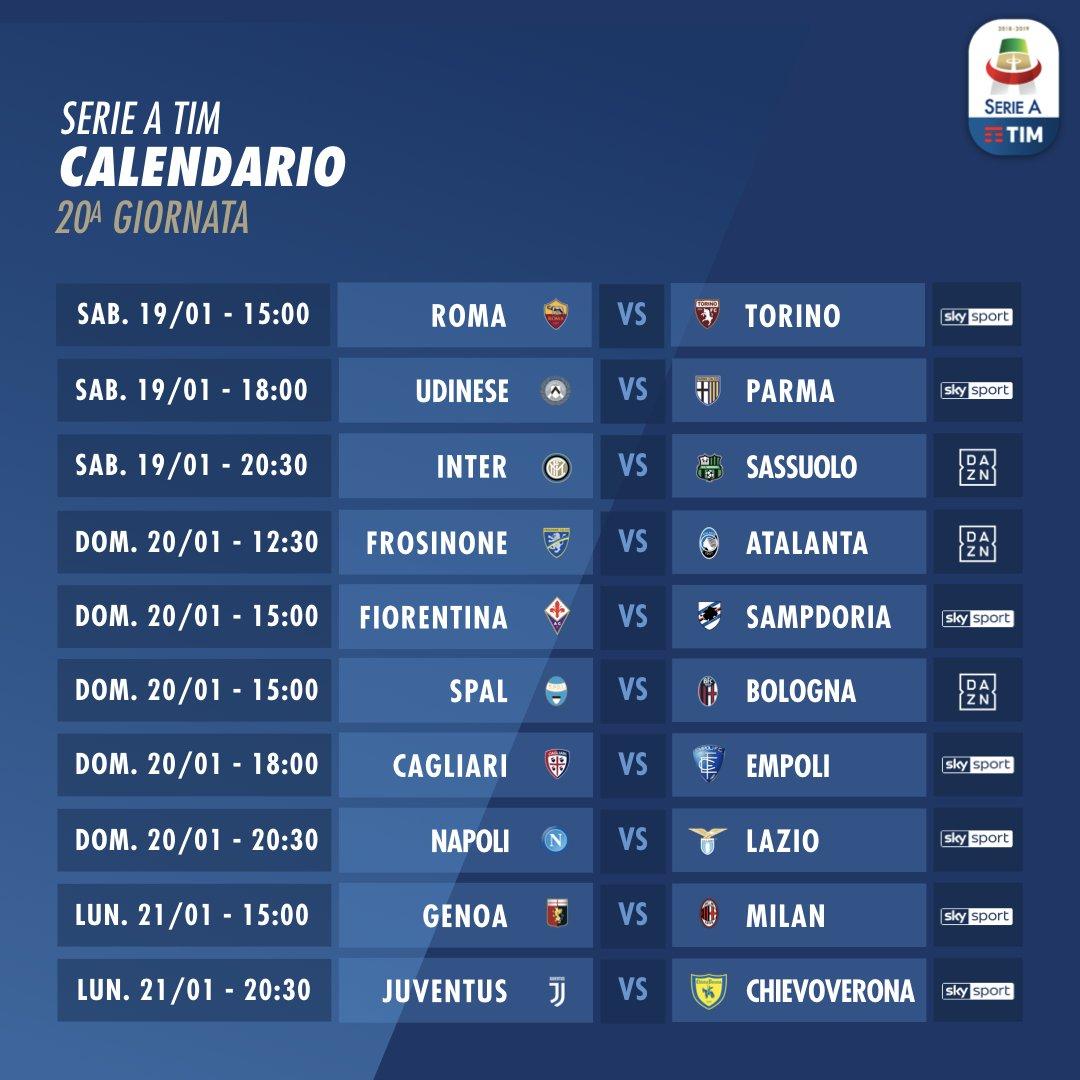 Finalmente ritorna la #SerieATIM!  Si ricomincia domani con #RomaTorino, siete pronti? ⚽️