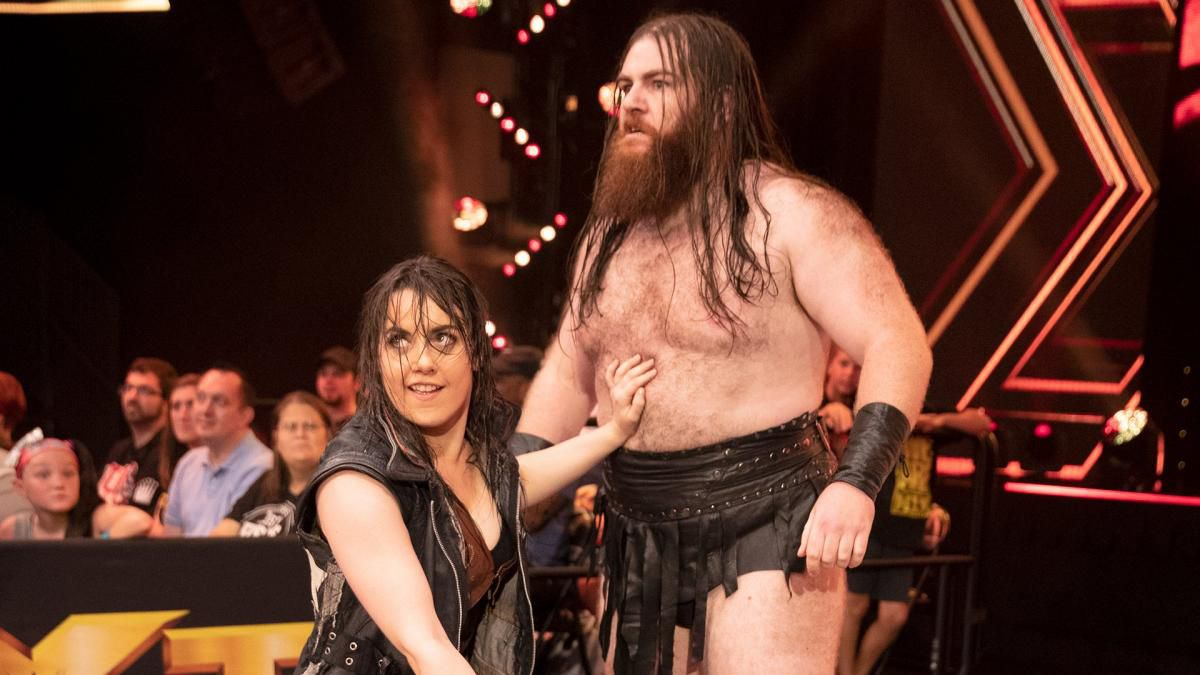 WWE Couple Nikki Cross And Killian Dain Are Now Married (Photos)