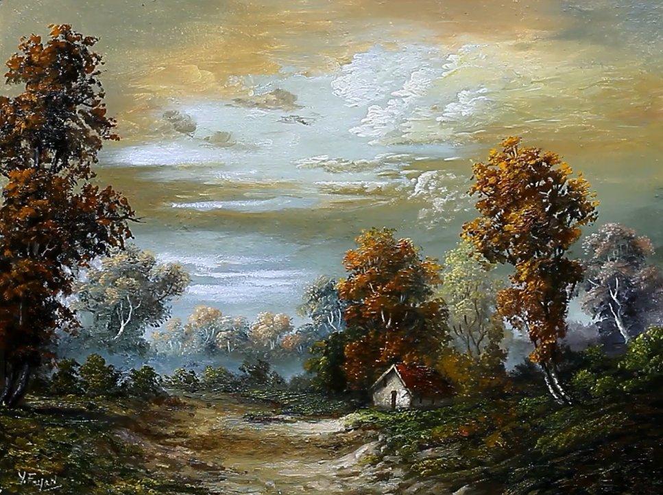 Landscape Oil Painting By Yasser Fayad https://t.co/1LZ0lo2fks https://t.co/Fo4pZ08Sn1