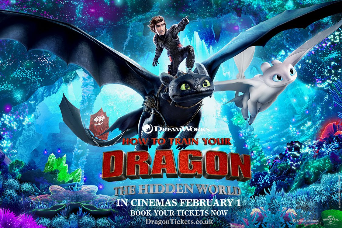 Banish the January blues with #O2Priority. Win 4 tickets to a special, immersive London preview screening of #HowToTrainYourDragon #TheHiddenWorld on 26 January, plus a hotel stay.  To enter, tell us what it would mean to share this experience with your family.