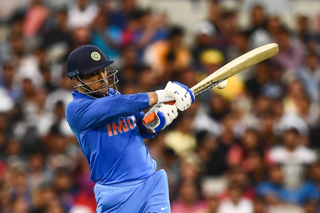 51 in Sydney 55* in Adelaide 87* in Melbourne  @msdhoni is the Player of the Series! #AUSvIND