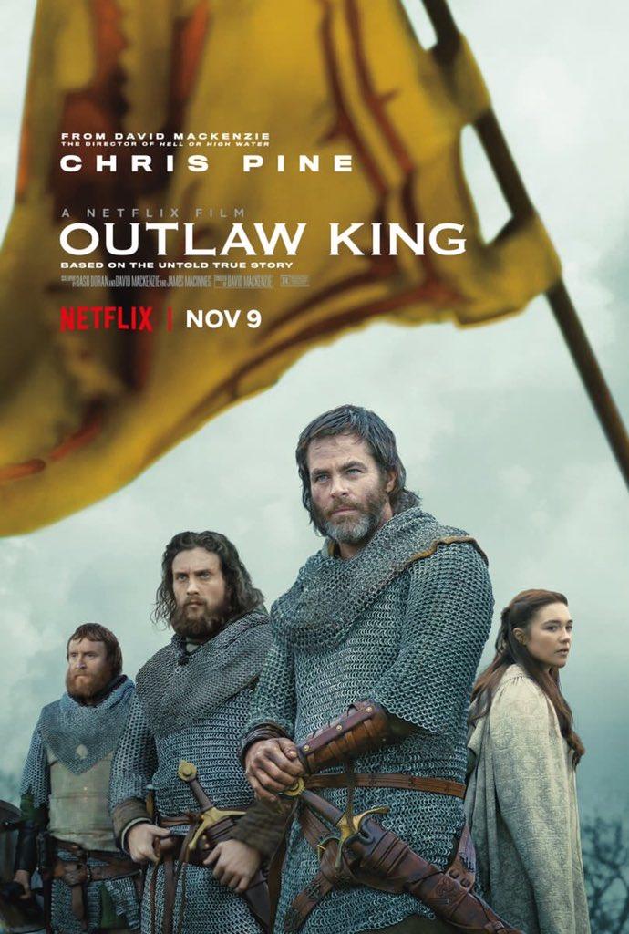 Outlaw King (2018).  https://t.co/pzAk7mdwB4 https://t.co/cfL0B1bNix
