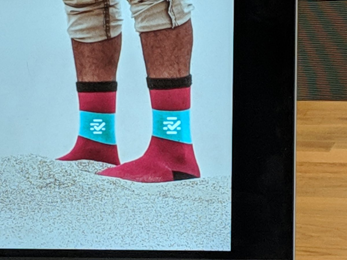 Testing 'hyperpartisan' socks as Factmata swag - left and right. What do we think?