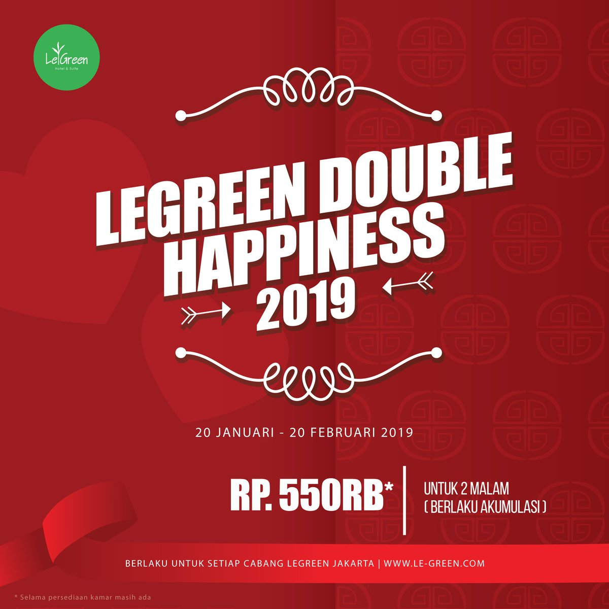 LEGREEN DOUBLE HAPPINESS 2019