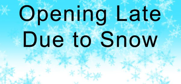 School opens LATE TODAY - Friday, January 18: 1st period starts @ 10:00 2nd period starts @ 11:10 3rd period starts @ 12:15 4th period starts @ 1:45 Stay warm, see you soon - ready to learn! <a target='_blank' href='https://t.co/aGgasolMqm'>https://t.co/aGgasolMqm</a>