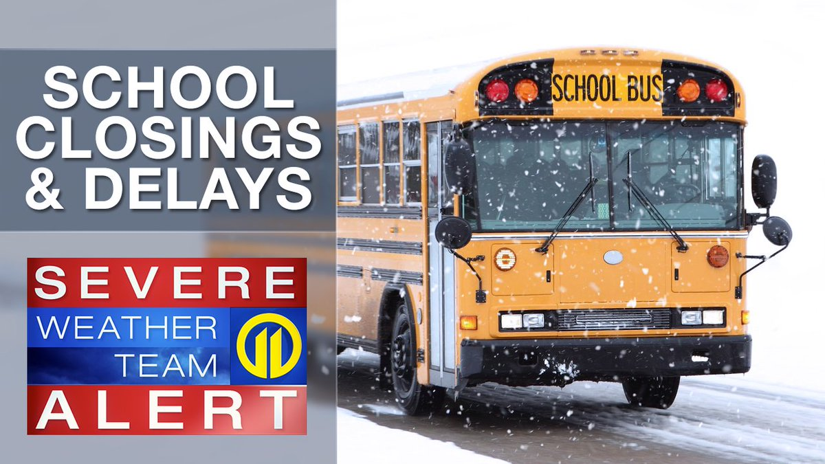 A few school districts in Westmoreland County have delayed the start of classes today. FULL LIST: https://t.co/Zr5irQETjR  We're LIVE with updated road conditions NOW on 11 Morning News.