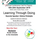 Image for the Tweet beginning: CYPF Conference London Sept 19