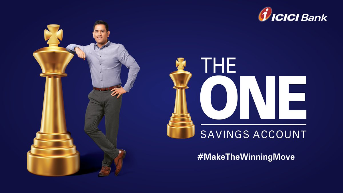 ICICI Bank's photo on dhoni