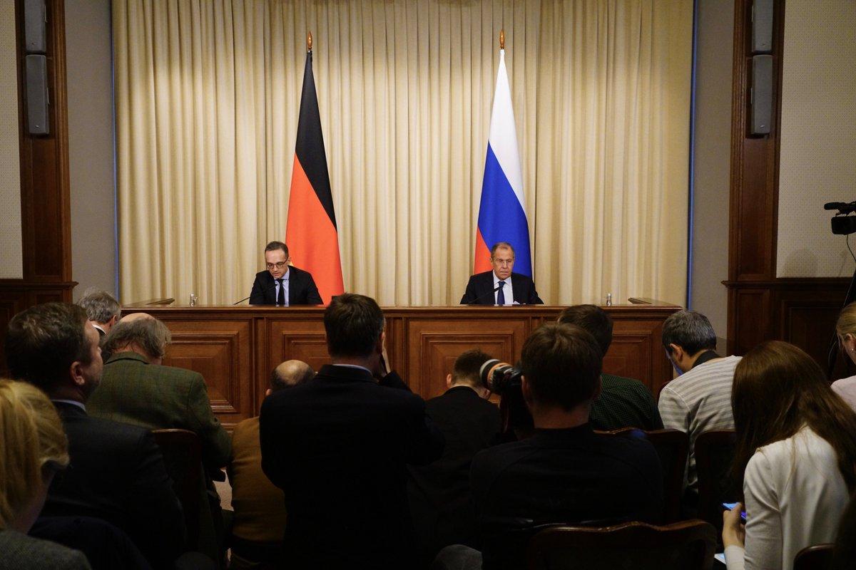 📄Стенограмму совместной пресс-конференции Сергея Лаврова и Министра иностранных дел Германи @HeikoMaasи  по итогам переговоров читайте по ссылкеhttps://t.co/r9qu6pStb9: