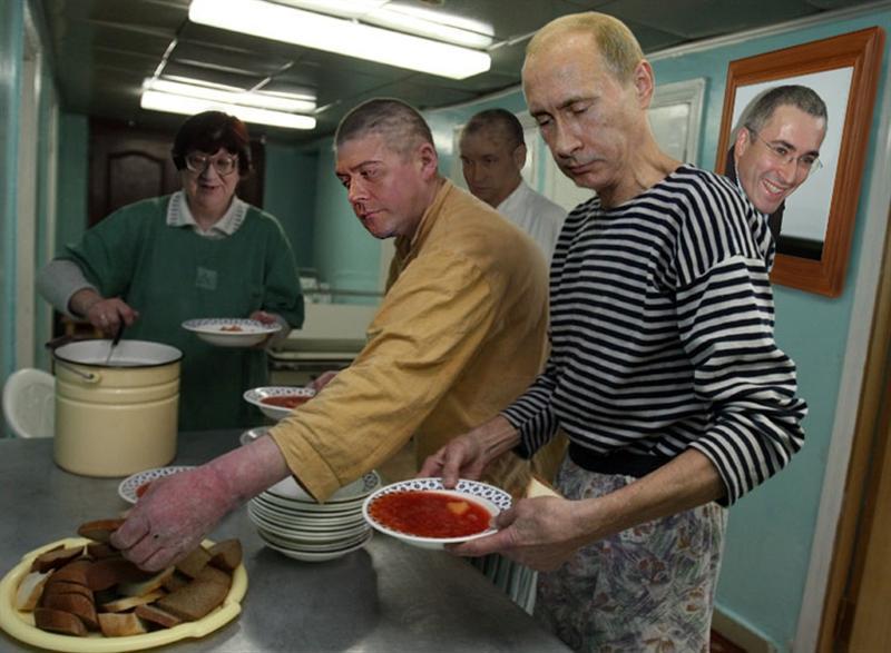 Русские разговоры во время вскрытия канала