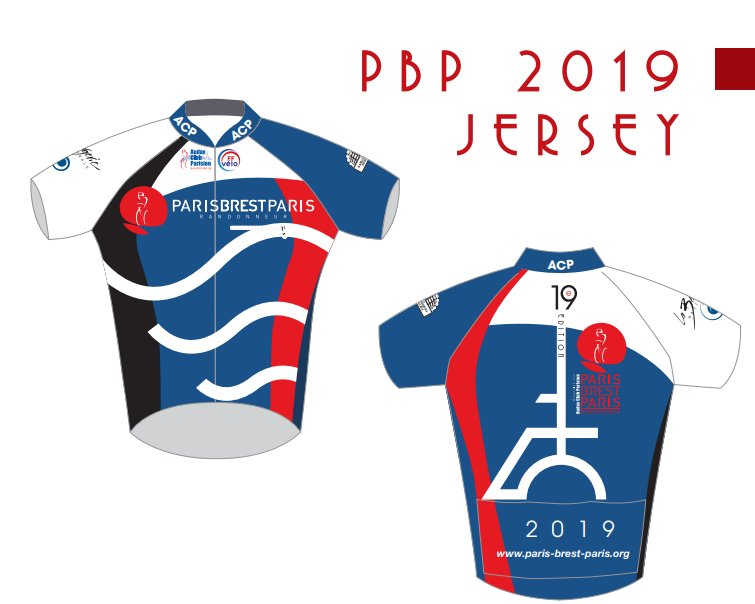 Maillot de véloPBP2019