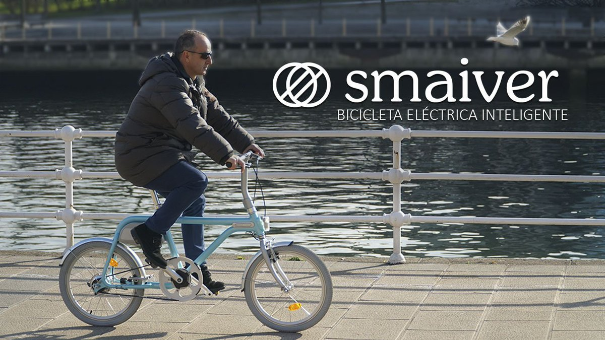 Sí aún no has visto lo último en #bicicletas #eléctricas #inteligentes, ya esta en Youtube, la primera 1ª bicicleta en España controlada totalmente con smartphone.  #SMAIVER: 💫Futuro y tendencia.💨 #smartbike  https://t.co/Xm3WcN69VA https://t.co/zqtnvQpyuz