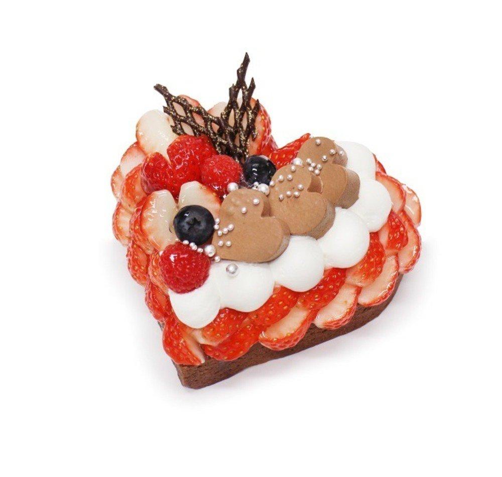カフェコムサのバレンタイン「恋みのり」いちごのハートケーキ、濃厚チョコ×甘酸っぱいいちご - https://t.co/MTFWr1d4VM