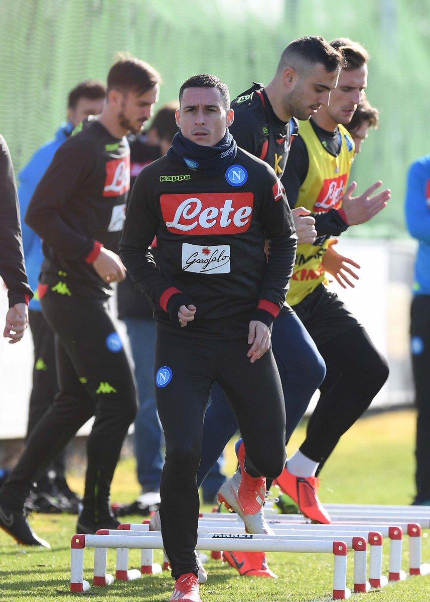 Napoli, il report dell'allenamento #18gennaio 👉🏻 https://t.co/SWmXYqg522 💙 #ForzaNapoliSempre