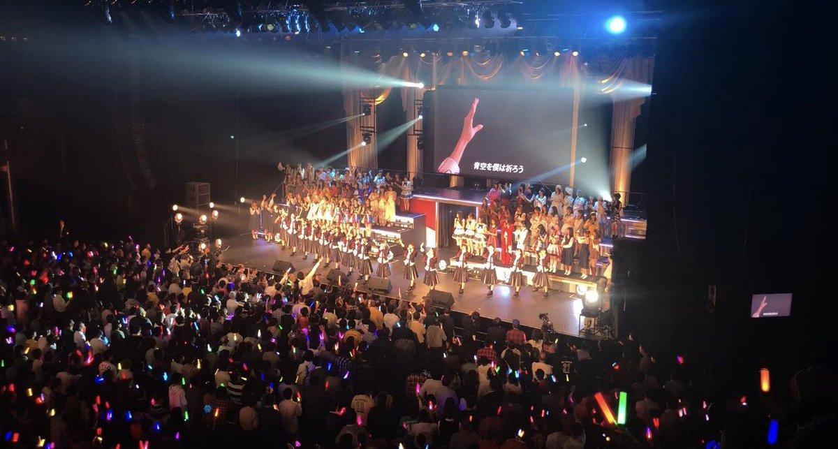 【悲報】NGT出演時にペンライト消灯多数!