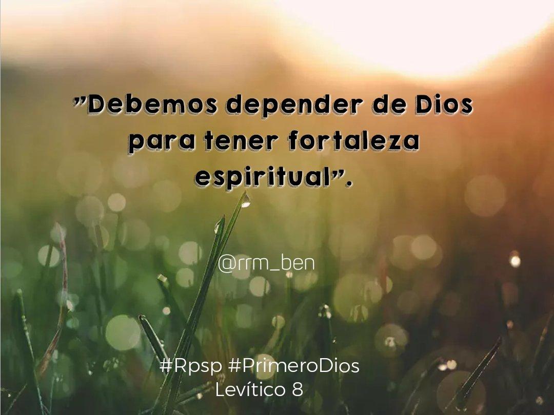Rubén Romero Marín On Twitter Debemos Depender De Dios Para Tener