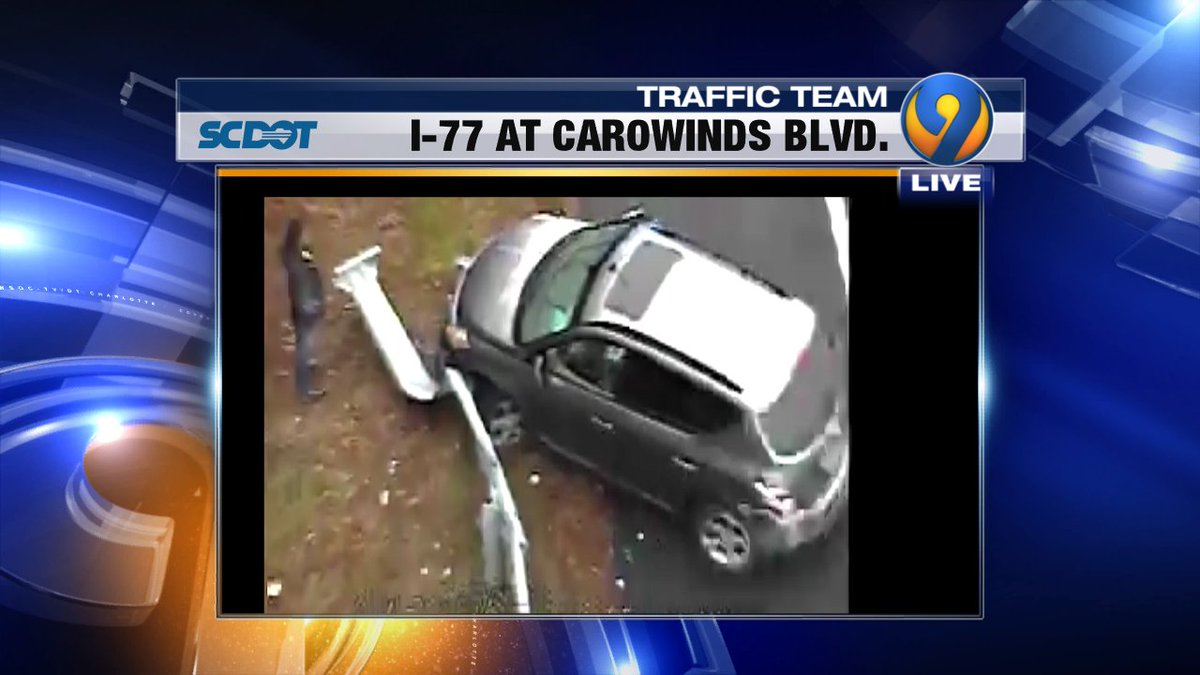 UPDATE: A look at  I-77 NB prior to Carowinds Blvd. Lots of leftover delays from #RockHill #FtMill #cltraffic #clttraffic #clt<br>http://pic.twitter.com/URU449kmVI