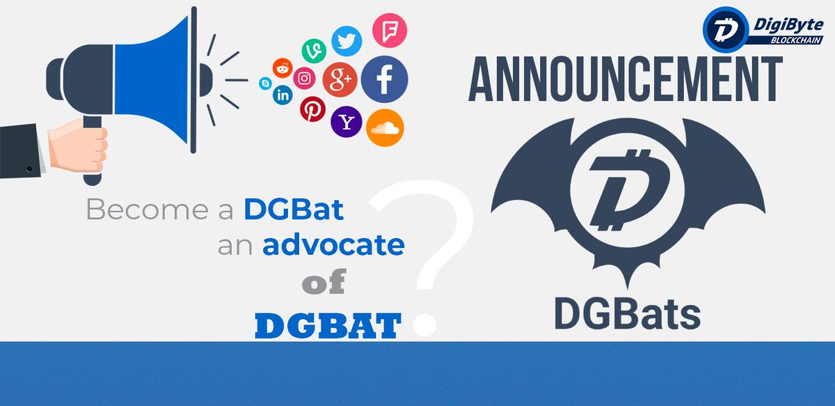 Become a DGBat, an Advocate of the DigiByte Awareness Team DGBAT!   https://www. dgbat.org/2019/01/18/app ly-to-be-a-dgbat-advocate/ &nbsp; …   #DigiByte #DGBAT<br>http://pic.twitter.com/6gaGvA29Zf