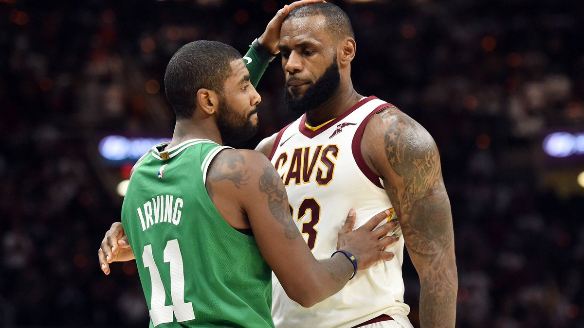 534c0e020984 Kyrie Irving Sent an Apology Text to the LeBron James https   t.