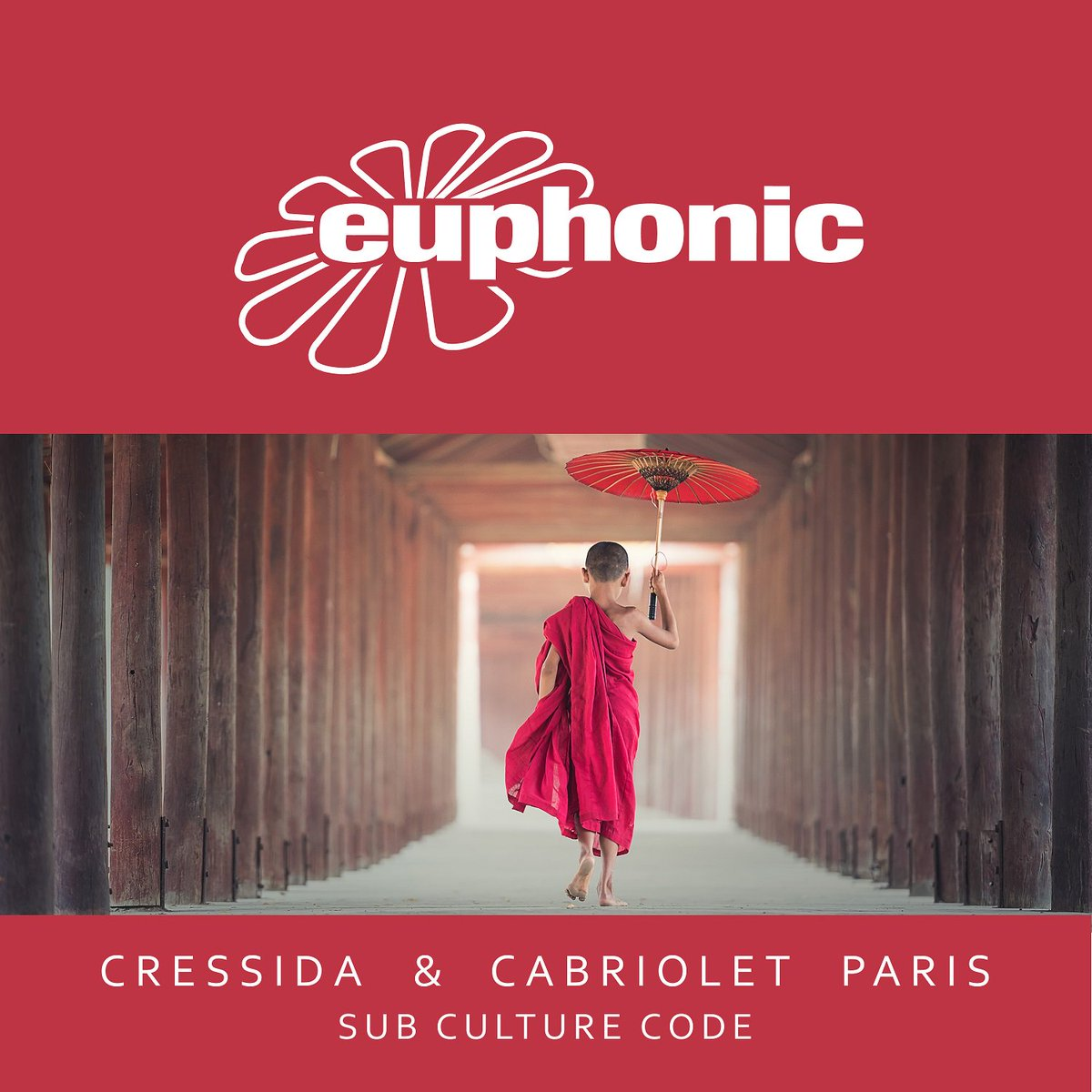 Yeah! Since a long time a new single by melody maker and label veteran @Cressidamusic is out today: http://www.EUPHONIC.LNK.TO/EUPH277 He teamed up with another long-term Euphonic artist - @CabrioletParis aka @SteveBrianMusic 😜  #trancefamily