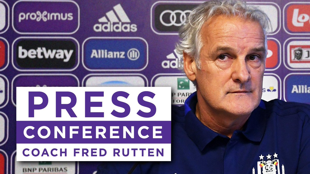 Rewatch Fred Rutten's press conference before #GNTAND on https://t.co/HpzXjdOHFE 🎙️ #RSCA #COYM https://t.co/qwUawdWe0I