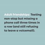 Image for the Tweet beginning: Relatable...? 🤔 #FridayFeeIing #digitaldetox #friendships