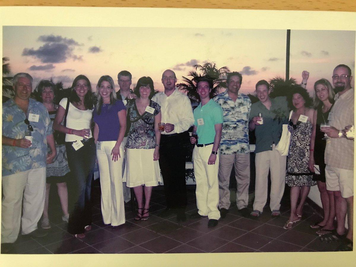 McAfee Destination Aruba in 2008!🌞#ChannelIncentiveTrip #FlashbackFriday
