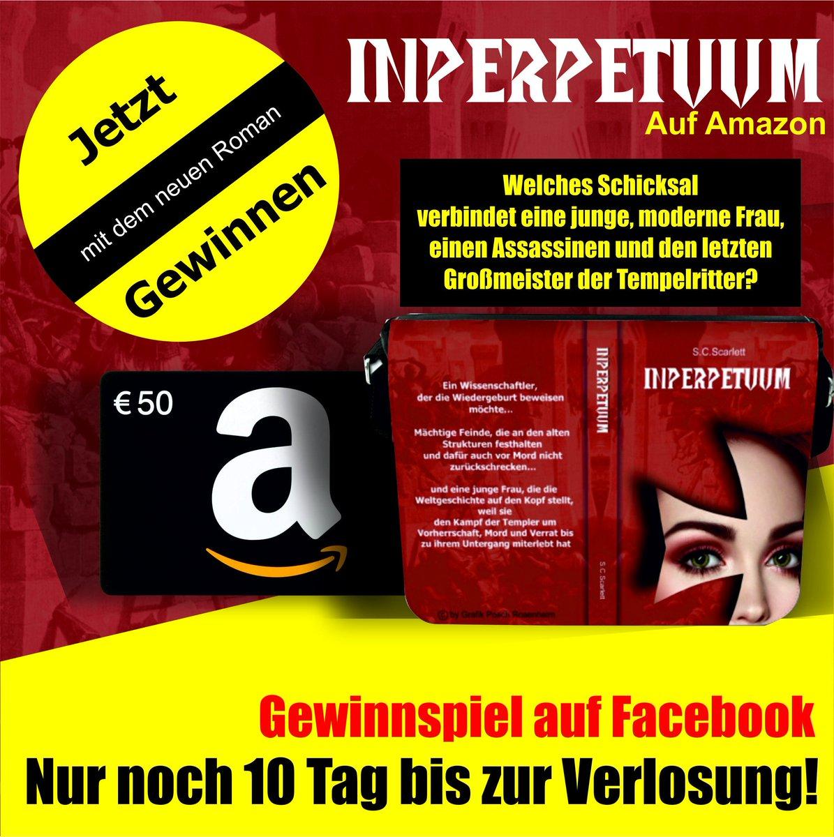 Das Gewinnpiel findet Ihr auf Facebook unter der Seite Inperpetuum! #Gewinnspiel #Verlosung #Historienroman #roman #Buch #Spannung #lesesüchtig #roman #leselust #musthave #verschwörungstheorienpic.twitter.com/1zBinpsNuC