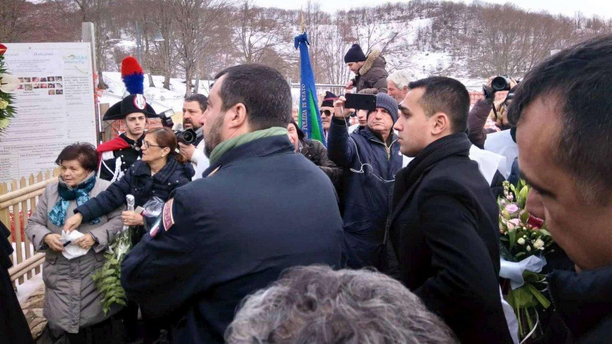 Rigopiano, Salvini: 'Ho detto a papà Feniello di non pagare un euro' #rigopiano https://t.co/1qnhAFgMzs