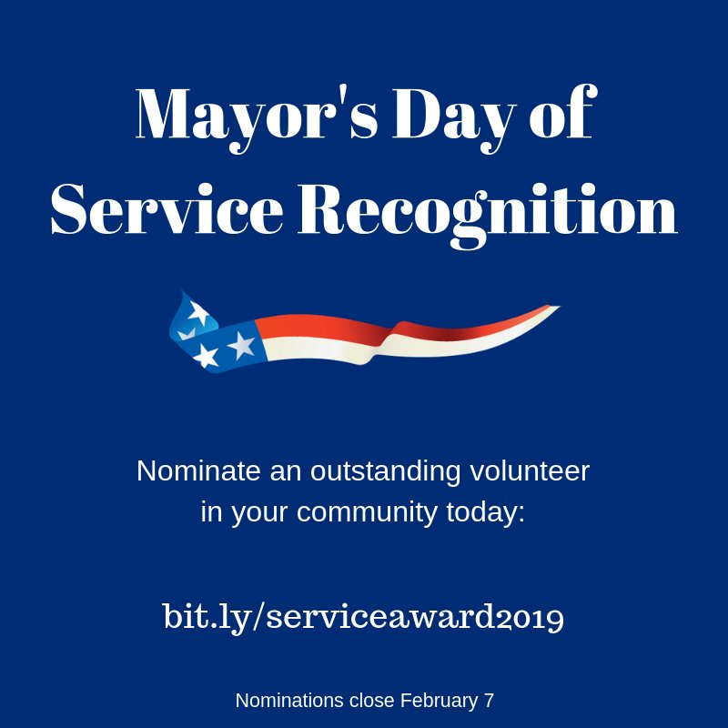 Know an @AmeriCorps or @SeniorCorps member who's always going above & beyond their duties? Nominate them for @PhillyMayor's Service Award ➡️ http://bit.ly/serviceaward2019… #PHLserviceAwards