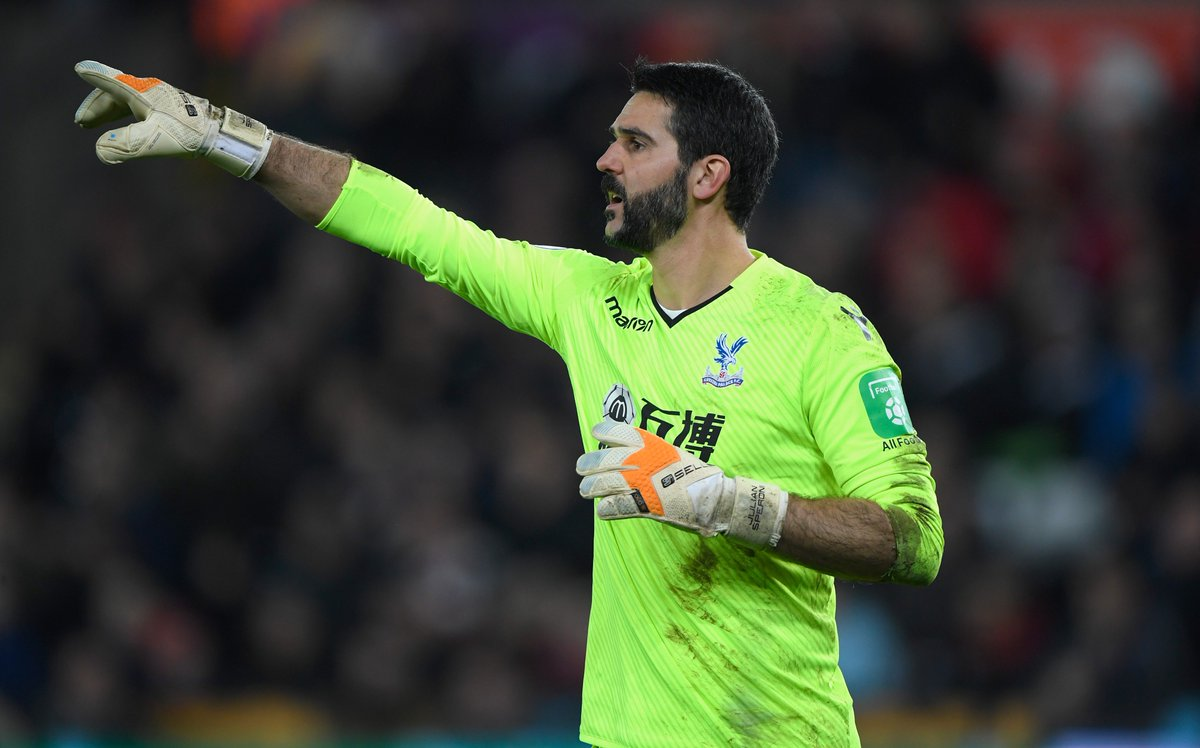 BREAKING: Roy Hodgson confirms Julian Speroni will start in goal for @CPFC at @LFC tomorrow in first appearance since December 2017. #SSN <br>http://pic.twitter.com/ym3T1t9quN