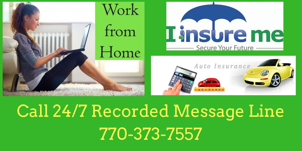 #BizOpp  Call our 24/7 Recorded Message Line at 770-373-7557  for Info on How YOU can turn a Mandatory Expense into a Growing Residual Income! #BeYourOwnBoss #WorkfromHome #BusinessOpportunity #Residualincome #Insurance #AutoInsurance #HomeInsurance #BusinessInsurance<br>http://pic.twitter.com/MNNzT5yRE4