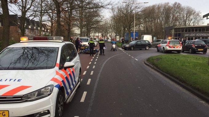Als gevolg van een motorongeluk op de Koningin Julianaweg GZ thv Wattstraat loopt het verkeer richting centrum vast https://t.co/1XlC6IMjvJ