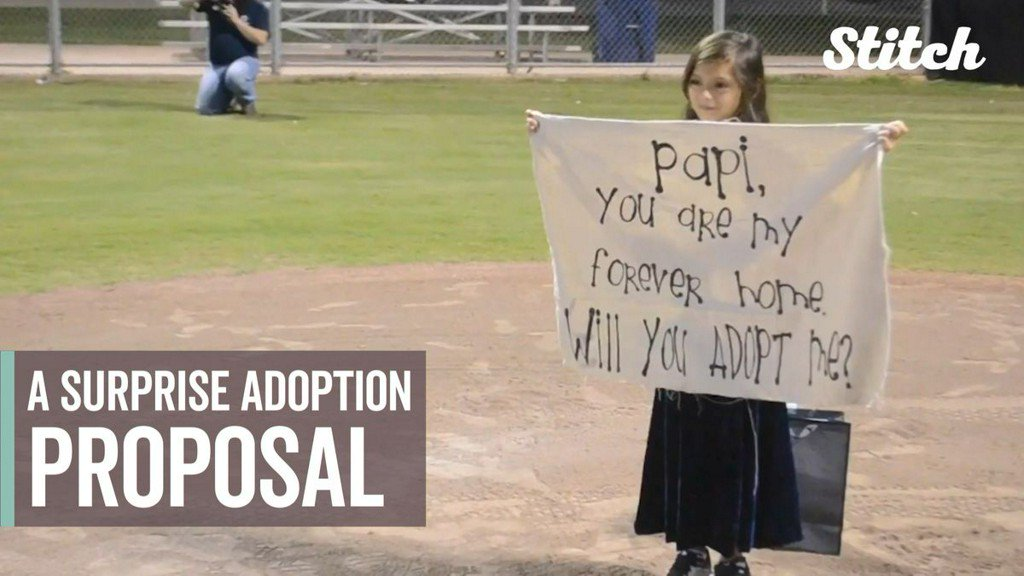 'You are my forever home': 8-year-old surprises stepdad with adoption proposal bit.ly/2TXDxE3
