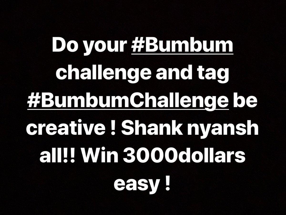 Link in bio !! 🔥🔥🔥#bumbumchallenge