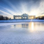 Image for the Tweet beginning: The Gloriette, located in the