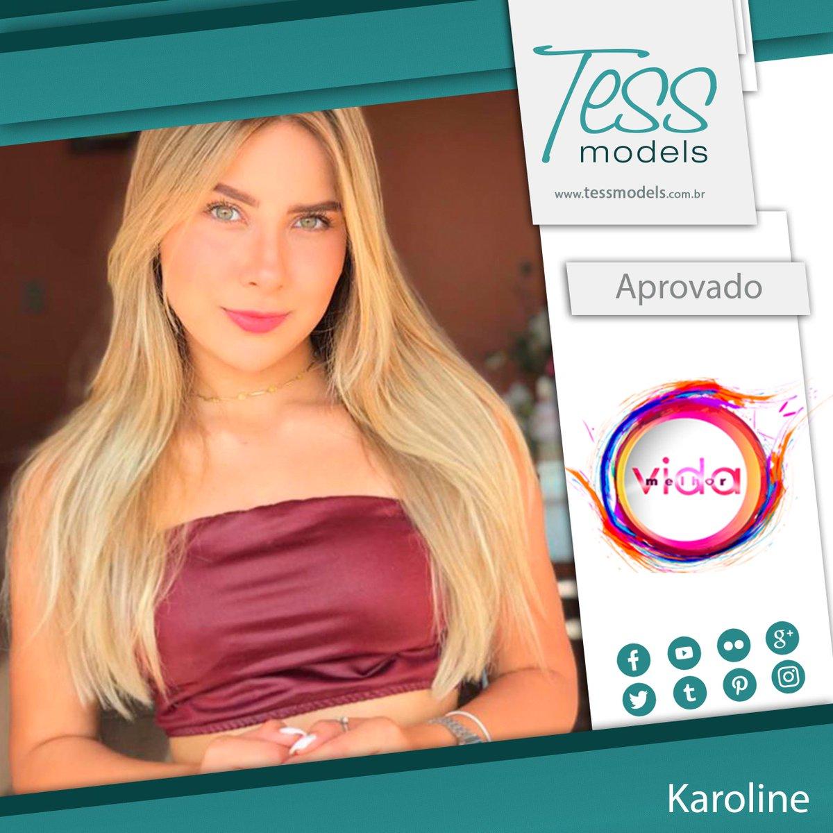 A modelo Karoline foi aprovada para uma pauta no programa Vida Melhor, Rede Vida. Parabéns <3  http://tessmodels.com.br/cadastro  #TessModels #modelo #fashion #photography #modelos #vidadeadulto #moda #decor #love #modeloffduty #modeloftheday #photooftheday #beauty #decoradulto #topmodel