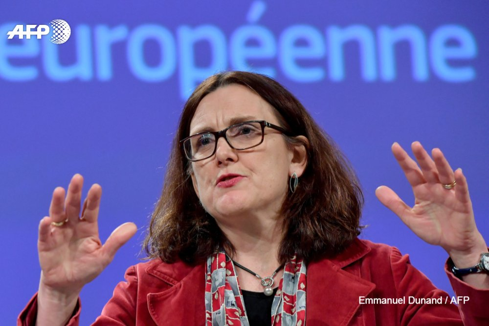 #UPDATE  The EU has published its negotiating plans for a free trade deal with the United States, part of an effort to avert a trade war with US President Trumhttps://t.co/fILU6OjoN8p