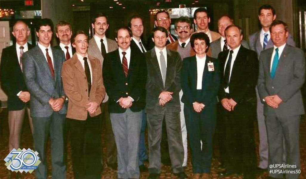 #FlashbackFriday - Say hello to some of our first @UPS pilots! Over the course of that first year (1988), @UPSAirlines hired more 800 pilots. #FlashForward to today, we have more than 2,700 pilots! ✈️ 📷 credit to #ProudUPSer & Retired Pilot Jim Yonts