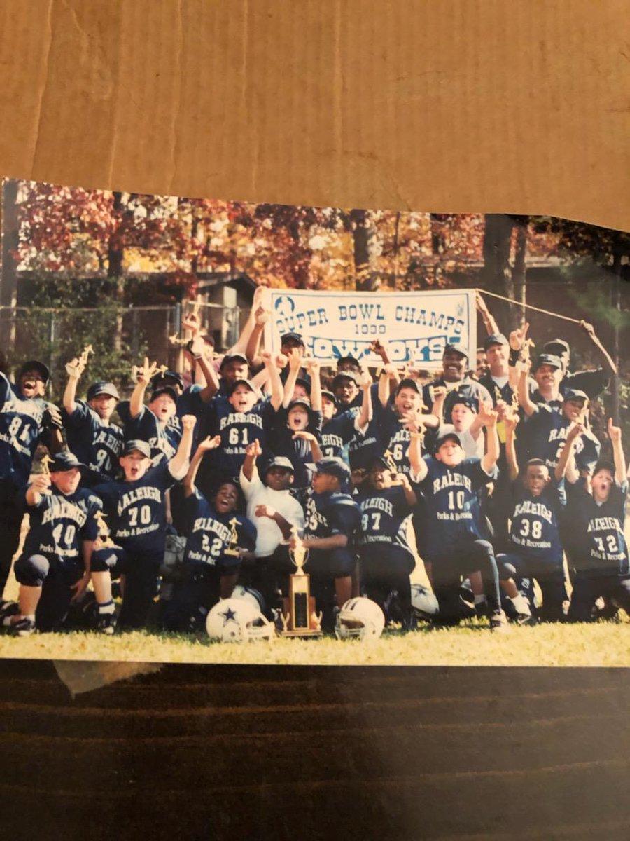 #FlashbackFriday @raleighparks 1999 Super Bowl Champions Raleigh Cowboys #Raleigh #Cowboys
