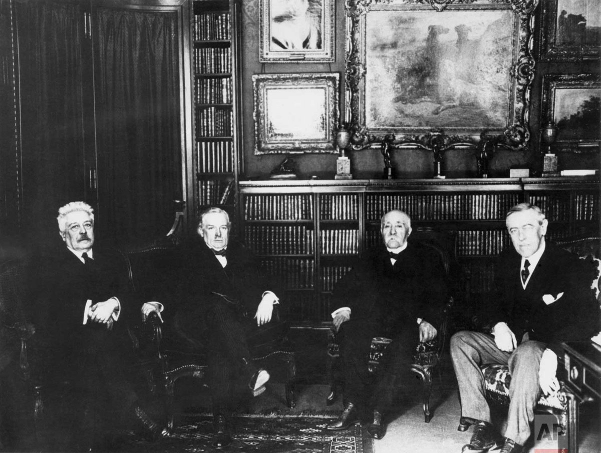 100 years ago today, the Paris Peace Conference, held to negotiate peace treaties ending the First World War, opened in Versailles, France.