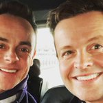 Ant and Dec Twitter Photo