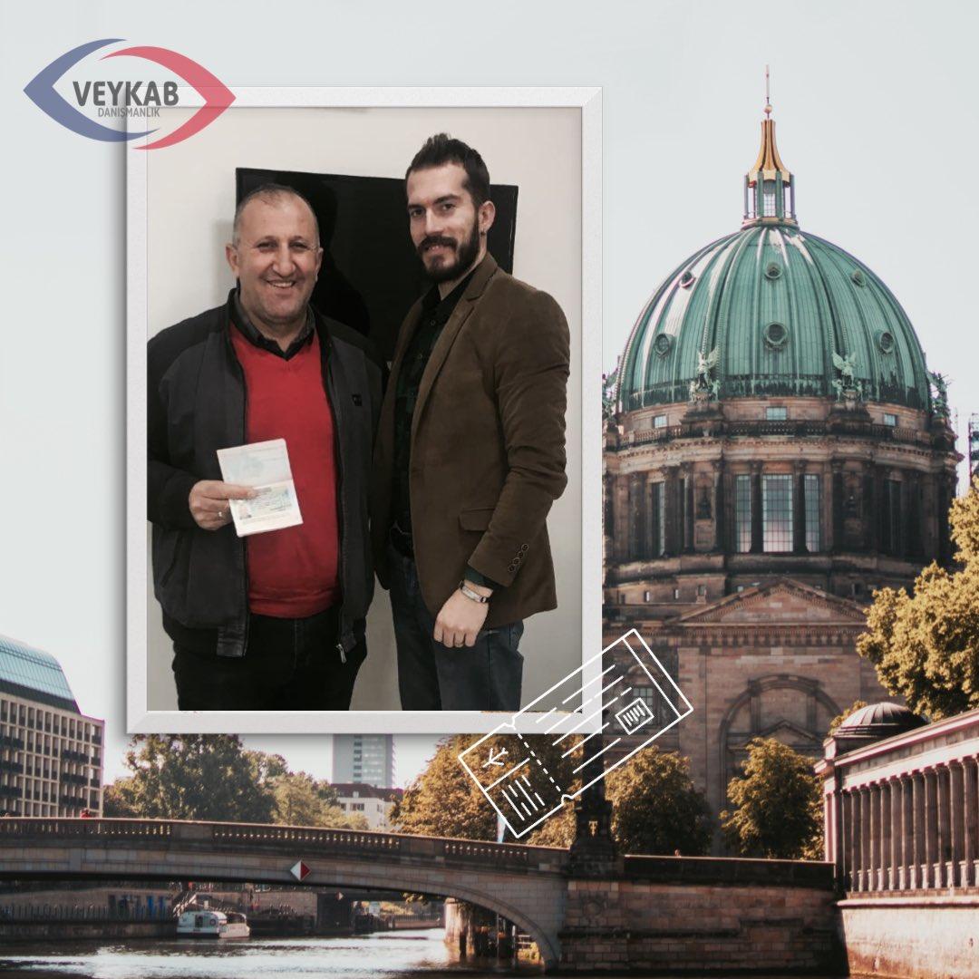 Veykab danışmanlık ile Almanya vizesini kolayca alan Salih Bey'e başarılar diliyoruz. - ☎️+90 531 784 86 88 🇬🇧+44 7584 714286 ✉️info@veykab.com 👆http://www.veykab.com - #germany #almanya #berlin #travel #germanyvisa #business #work #vize #danışmanlık #veykab #yurtdışı #seyahat