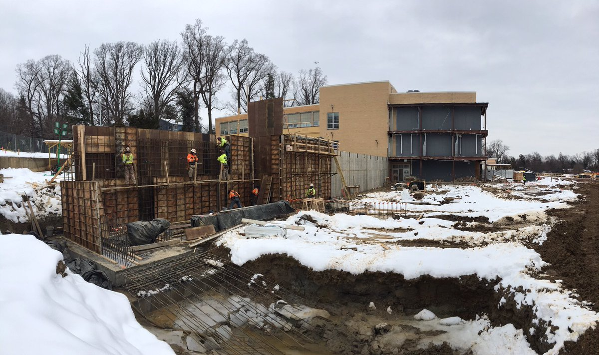 Exciting to see concrete emerging from the ground for <a target='_blank' href='http://twitter.com/APSVirginia'>@APSVirginia</a> Hamm MS as the addition starts to take shape!! <a target='_blank' href='http://twitter.com/EllenSmithAPS'>@EllenSmithAPS</a> <a target='_blank' href='http://twitter.com/HBWProgram'>@HBWProgram</a> <a target='_blank' href='http://search.twitter.com/search?q=StratfordProject'><a target='_blank' href='https://twitter.com/hashtag/StratfordProject?src=hash'>#StratfordProject</a></a> <a target='_blank' href='https://t.co/PA16bFR2xE'>https://t.co/PA16bFR2xE</a>