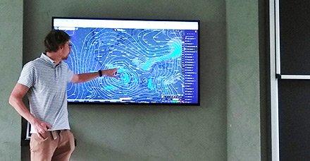 Snow In Trieste ICTP Climate Modeller Adrian Tompkins Weekly Weather Forecast Seminars Ictpit Fko26 Keep Us Informed