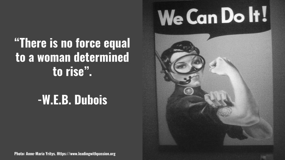 What can possibly stop a woman who is determined to rise despite of her circumstances? http://bit.ly/EMPOWERMENT888 #feminism #metoo